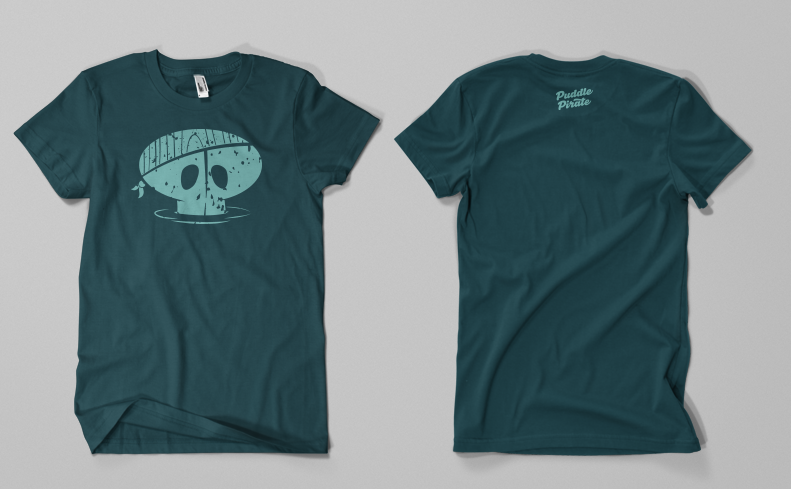 Puddle Pirate Shirt Design - image 3 - student project