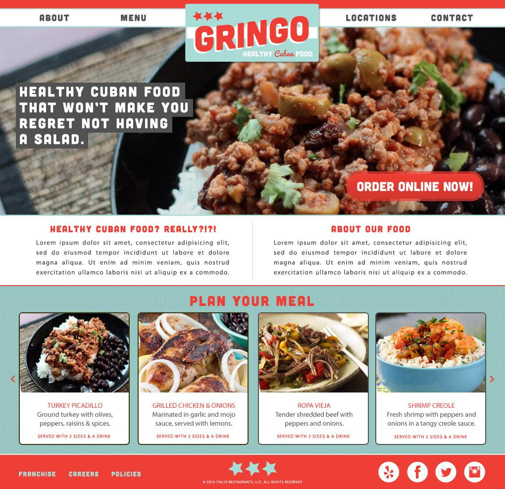 Gringo - Healthy Cuban Food - image 4 - student project