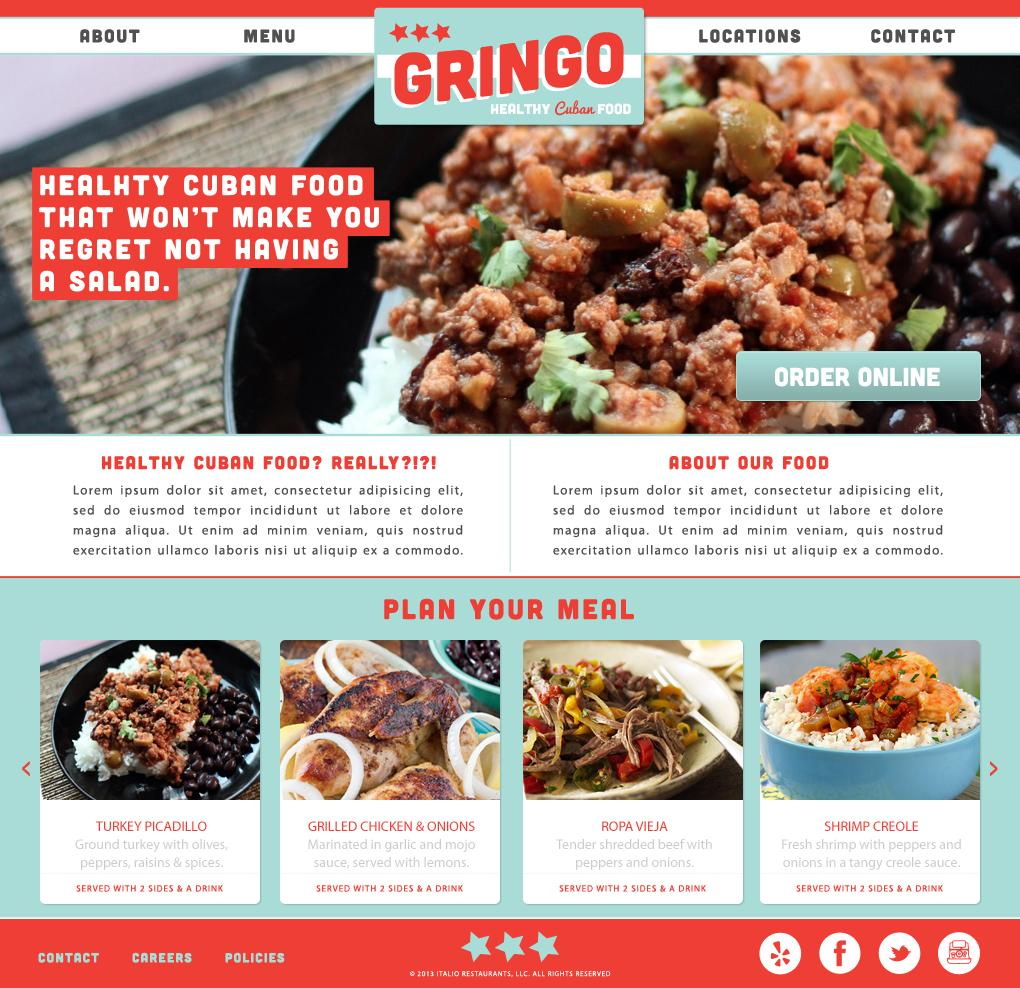 Gringo - Healthy Cuban Food - image 3 - student project