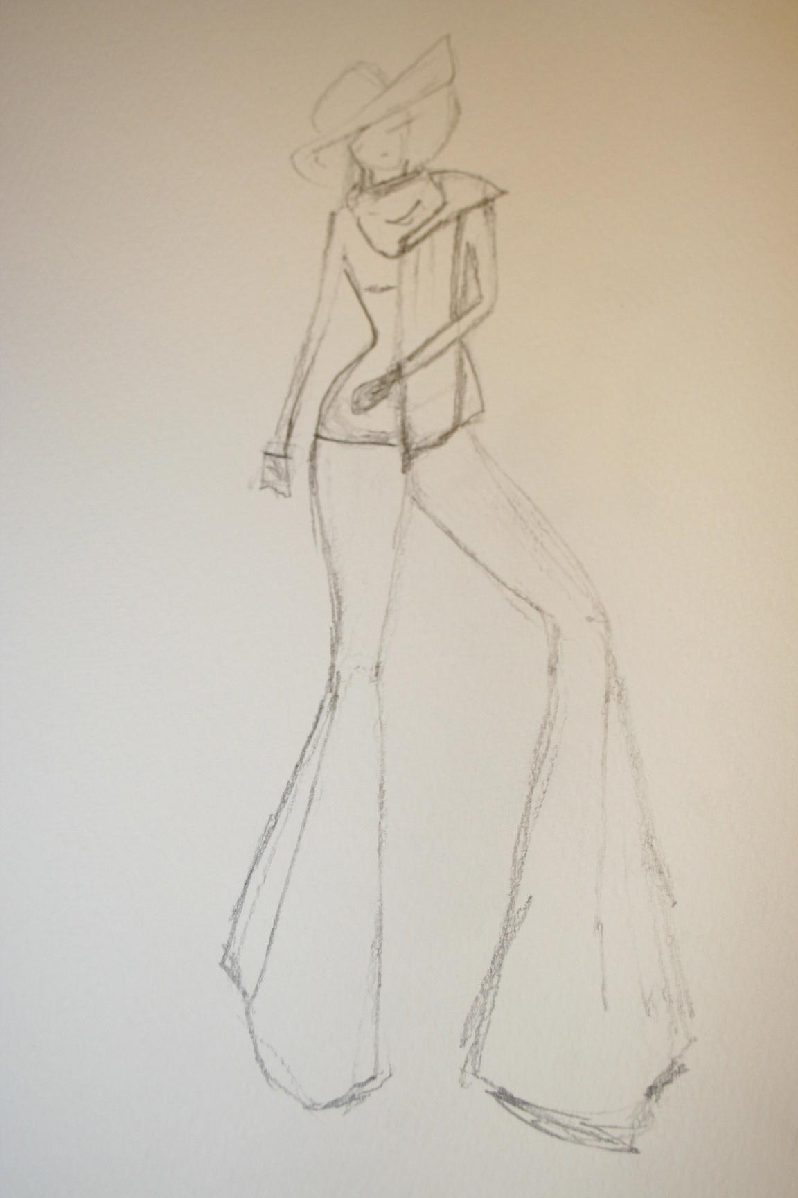 Watercolors - Modern mix of vintage glamour. - image 9 - student project