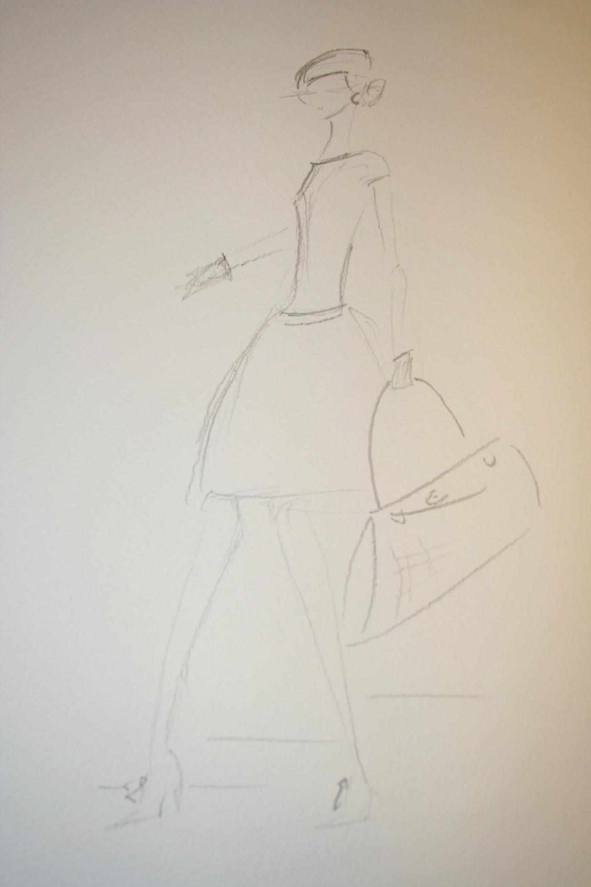 Watercolors - Modern mix of vintage glamour. - image 6 - student project