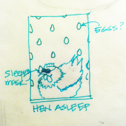 Quiet - Hen Napping - image 1 - student project