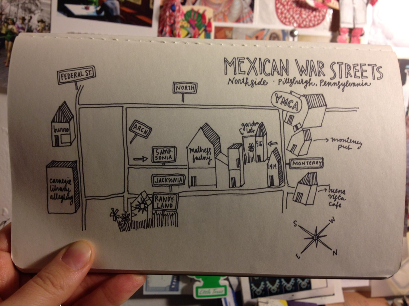 pittsburgh // neighborhoods // drawings  - image 5 - student project