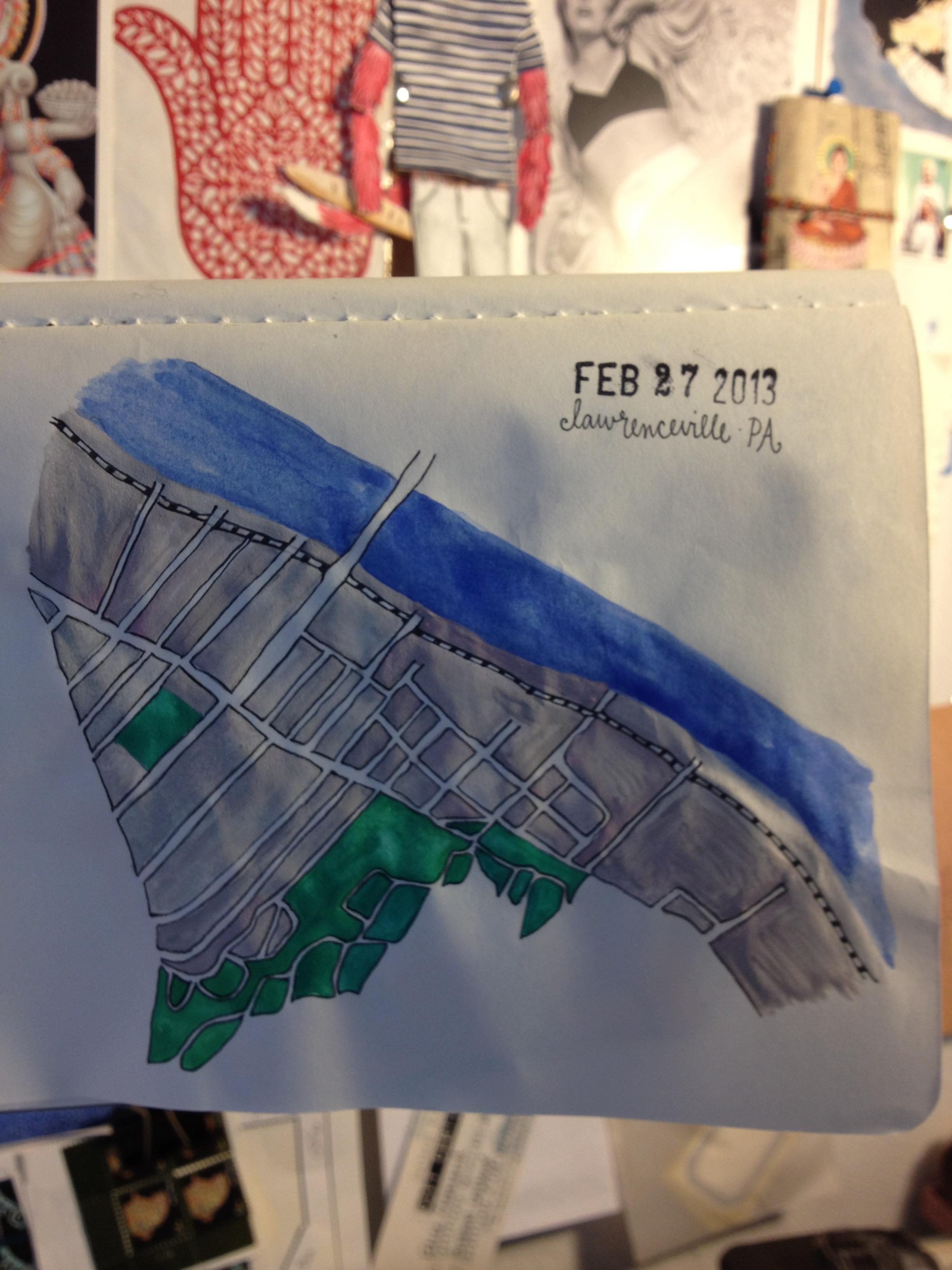 pittsburgh // neighborhoods // drawings  - image 2 - student project