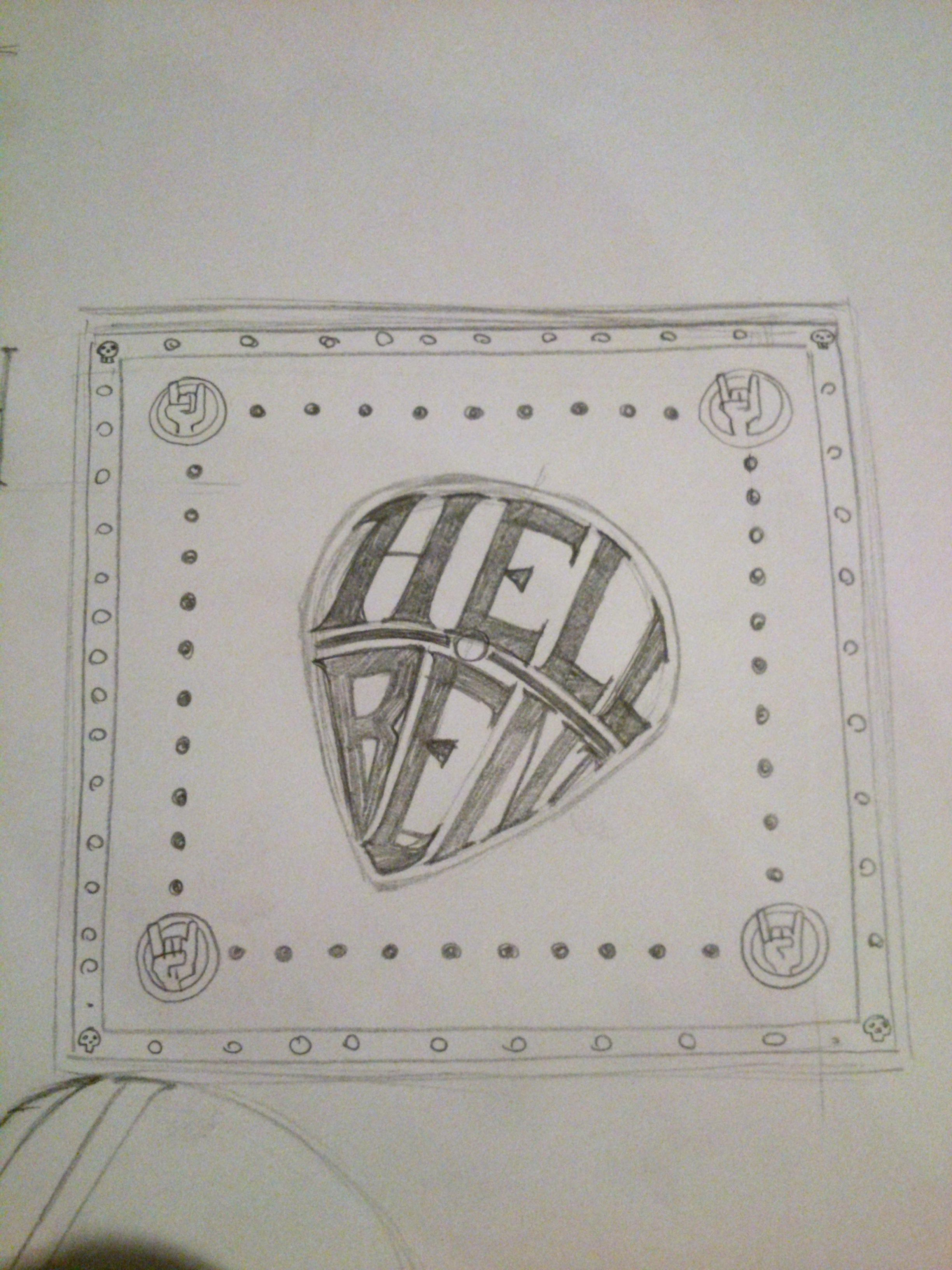 HELL BENT - GUITAR STRINGS - image 7 - student project