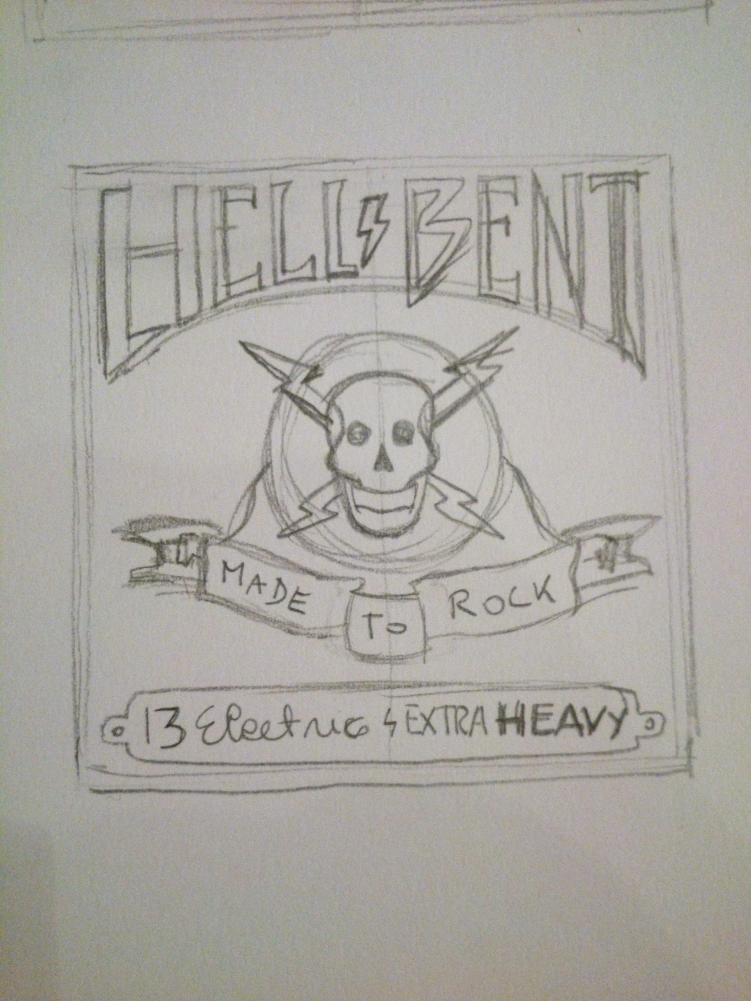 HELL BENT - GUITAR STRINGS - image 8 - student project