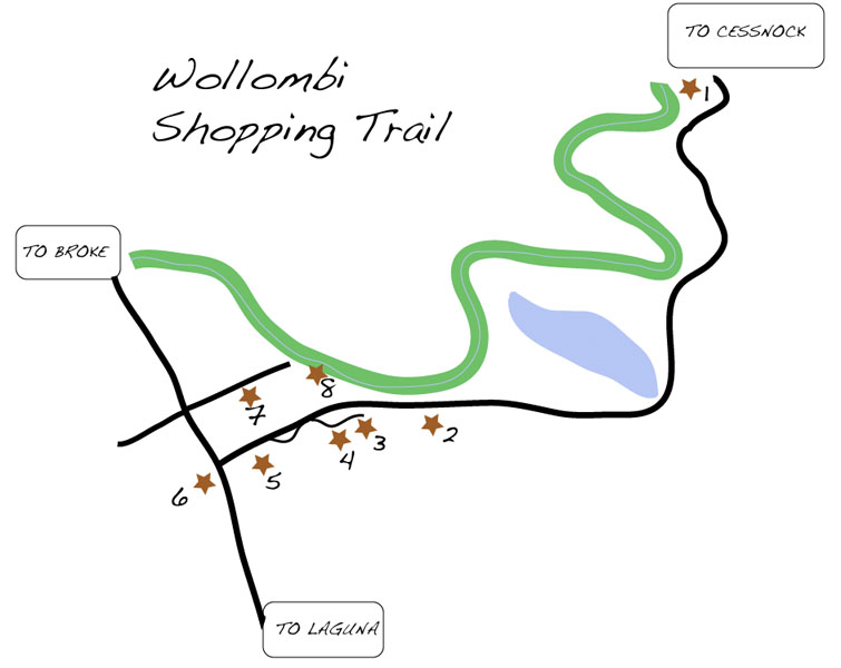 Wollombi Valley Shopping Trail -- updated - image 3 - student project