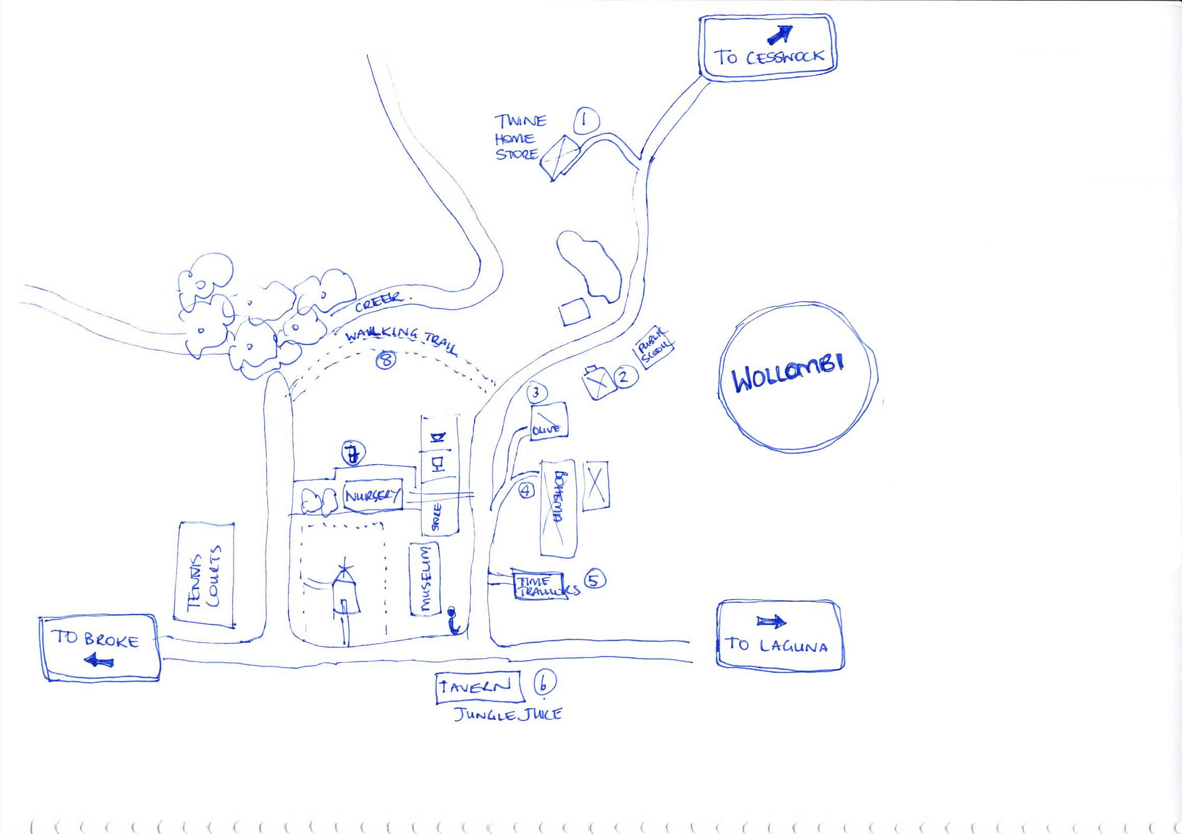 Wollombi Valley Shopping Trail -- updated - image 1 - student project