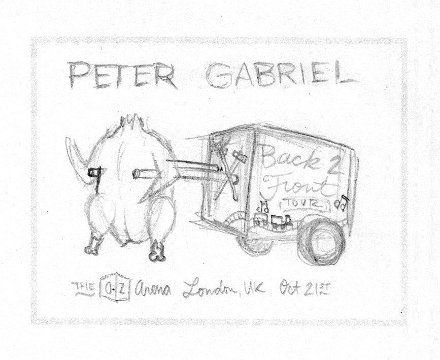 Peter Gabriel - Back to Front Tour (Europe) - image 10 - student project