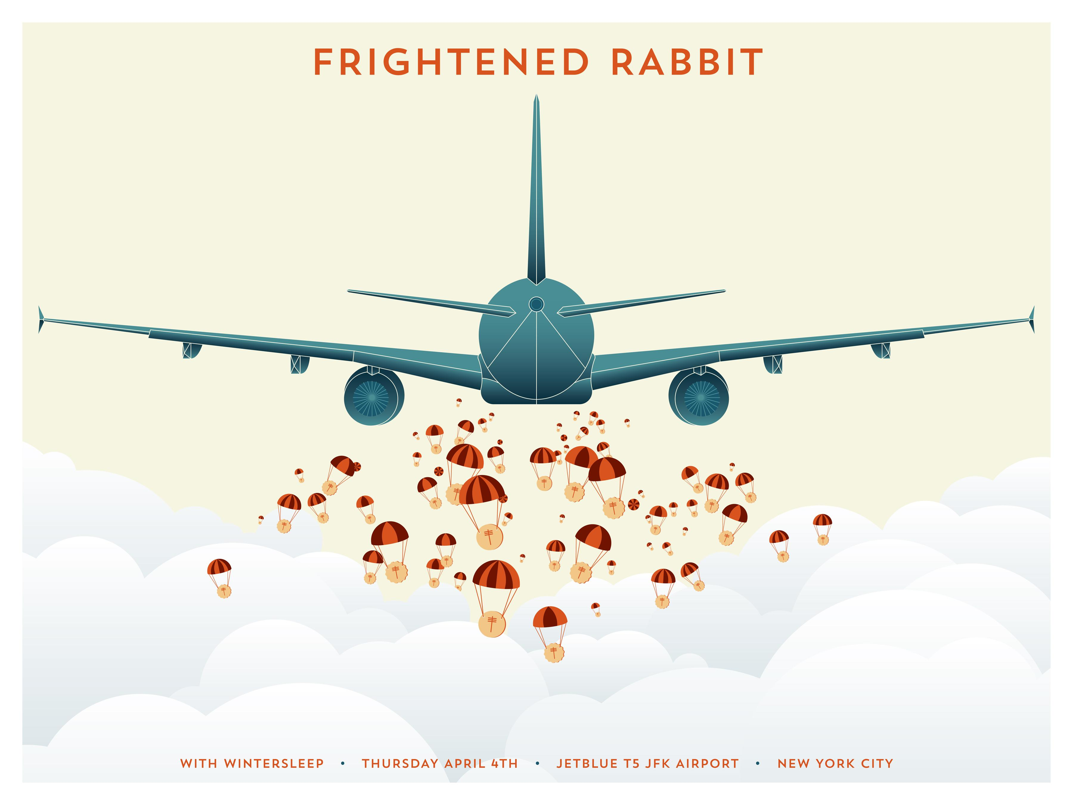 Frightened Rabbit @ T5 - image 2 - student project