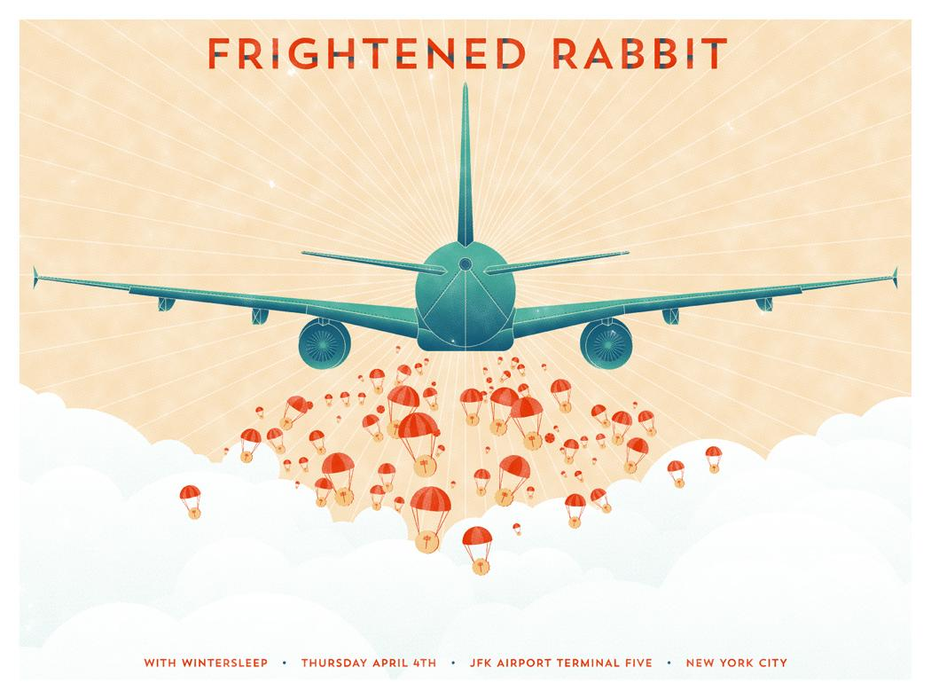 Frightened Rabbit @ T5 - image 1 - student project