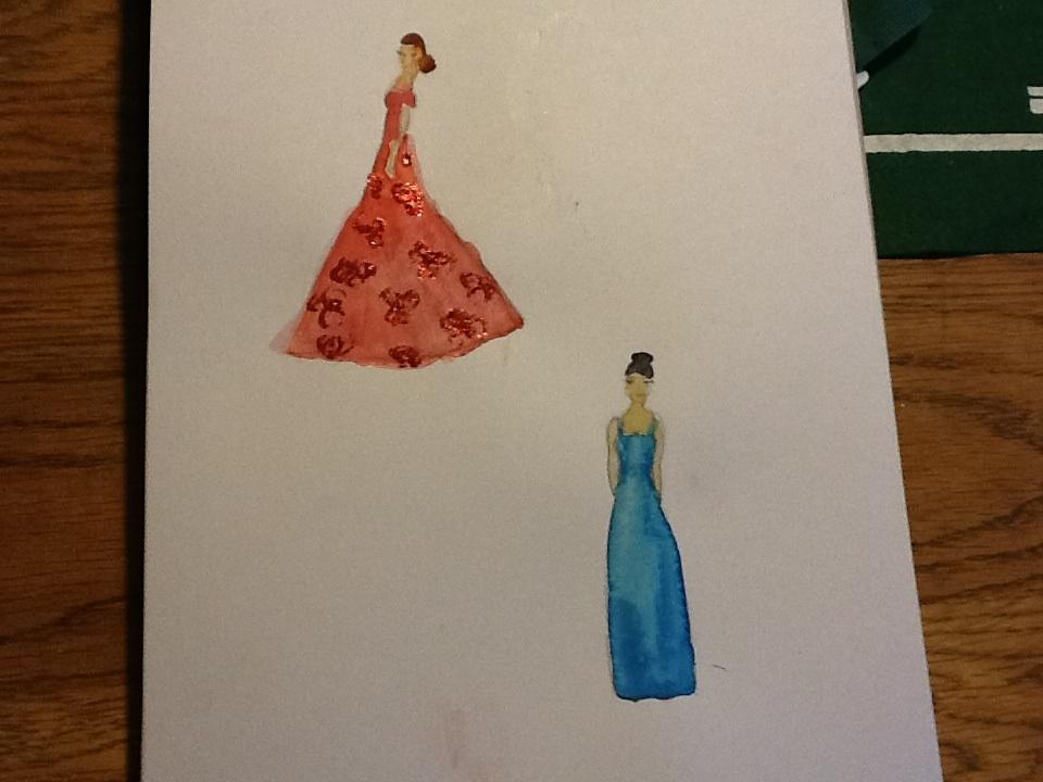 Sketches/watercolor  - image 4 - student project