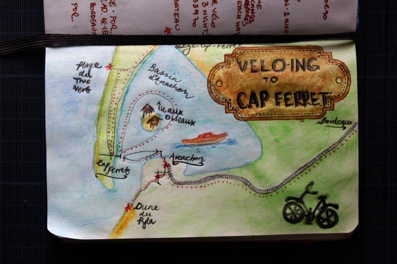 Vélo-ing to Cap Ferret - image 19 - student project