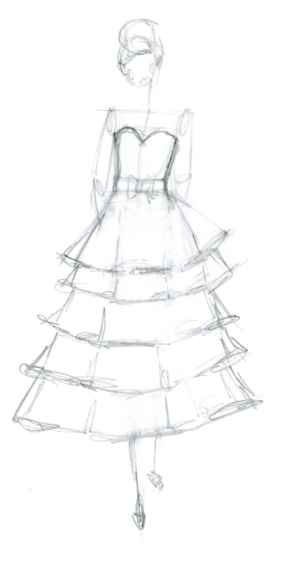 SKETCH : frou frou. cotillion to quirky - image 1 - student project