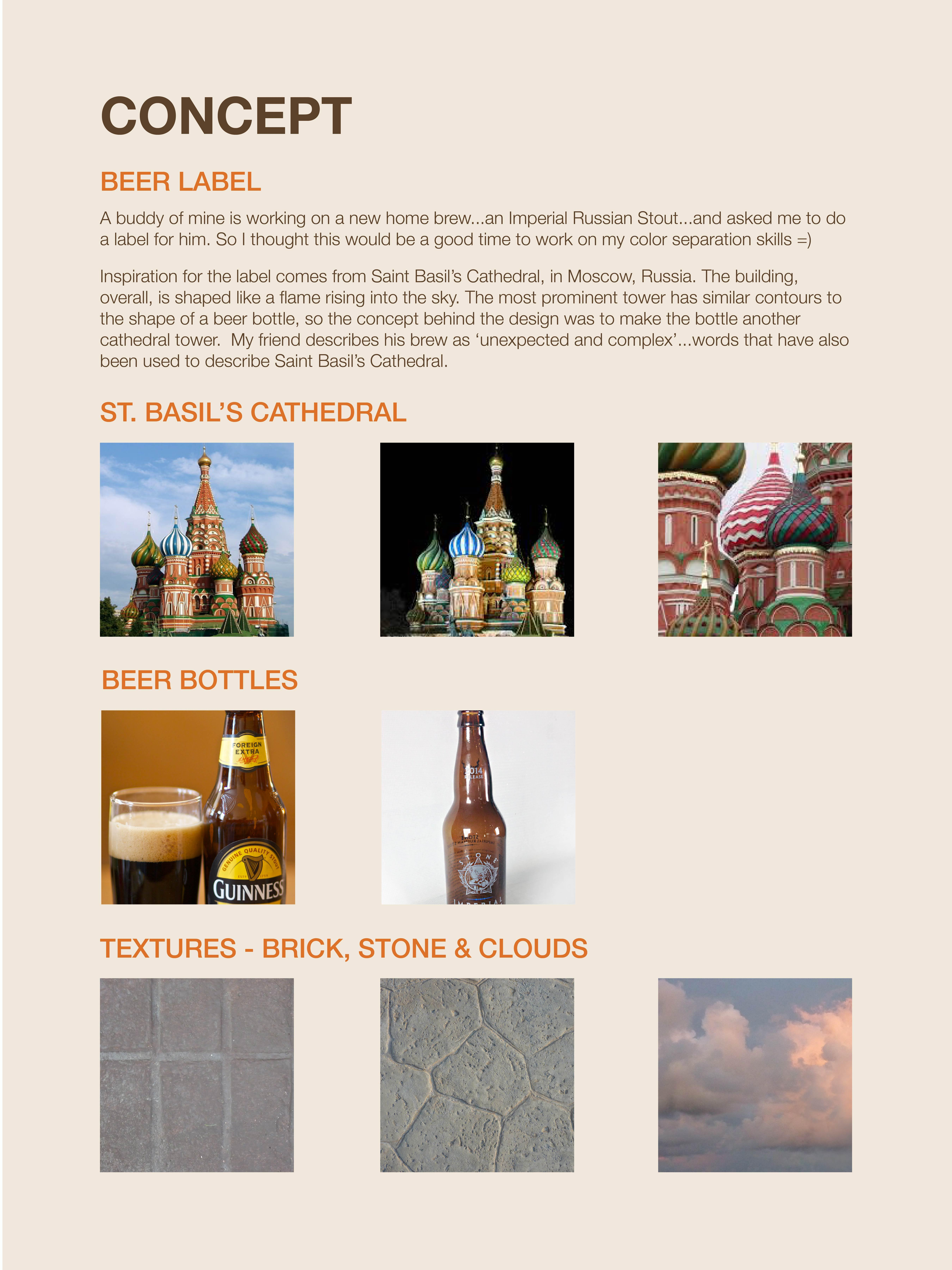 Imperial Russian Stout Beer - image 2 - student project
