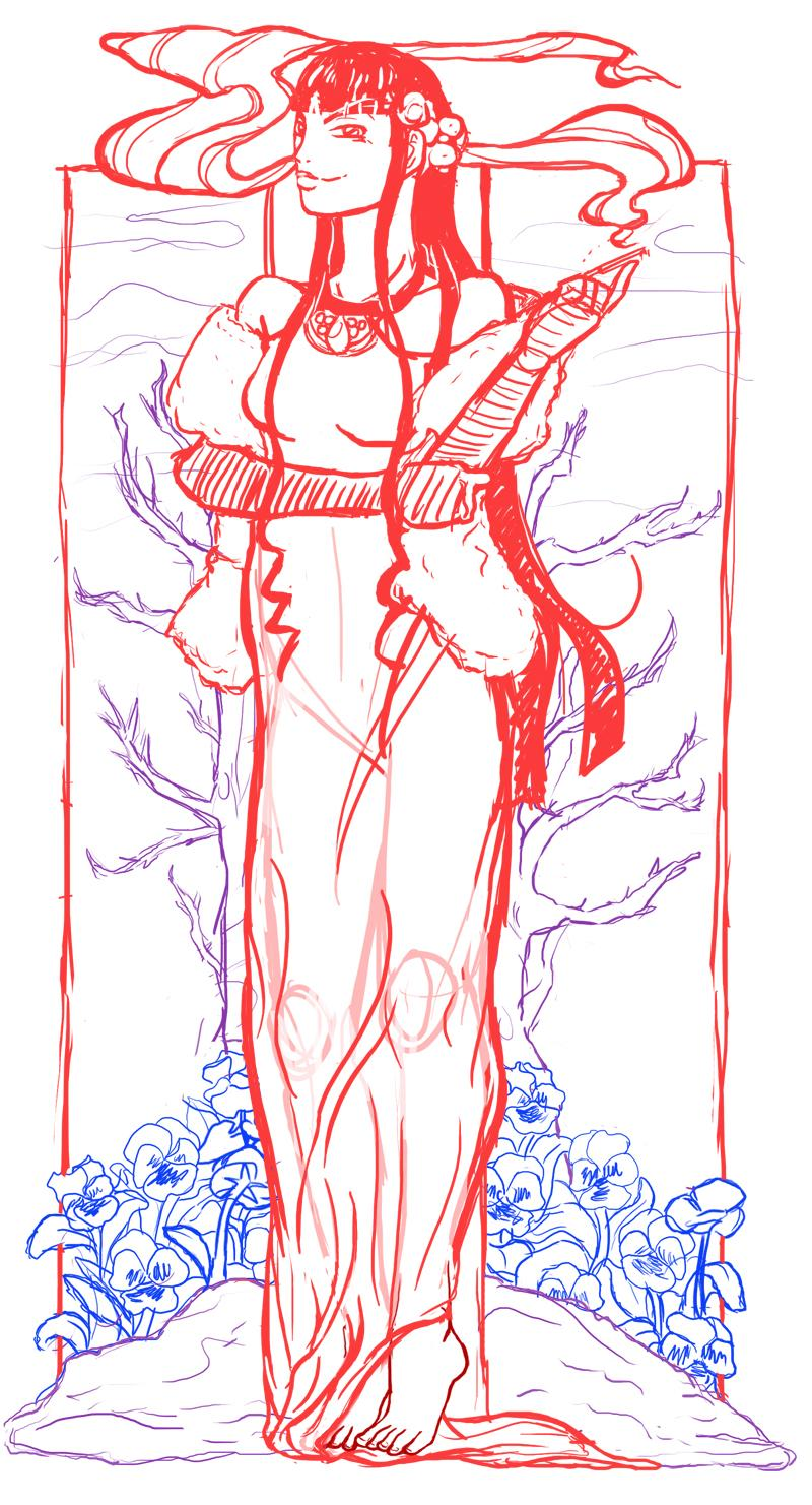 Lan's illustration - image 1 - student project