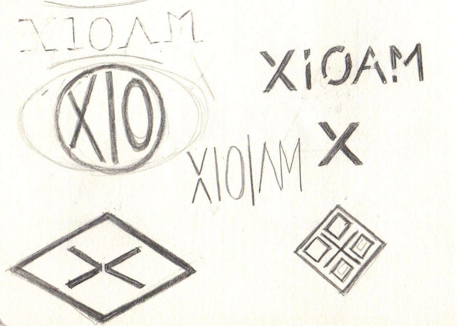 x // logo for personal brand - image 2 - student project
