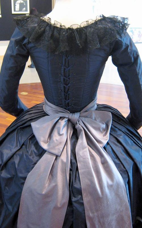I love the look of dresses from the 18th, 19th and early 20th Century, as seen in period dramas - lots of layers and embellishment. The exaggerated female shape is quite beautiful (admittedly, the corsets weren't much fun). The ornate hats and silk gloves - image 3 - student project