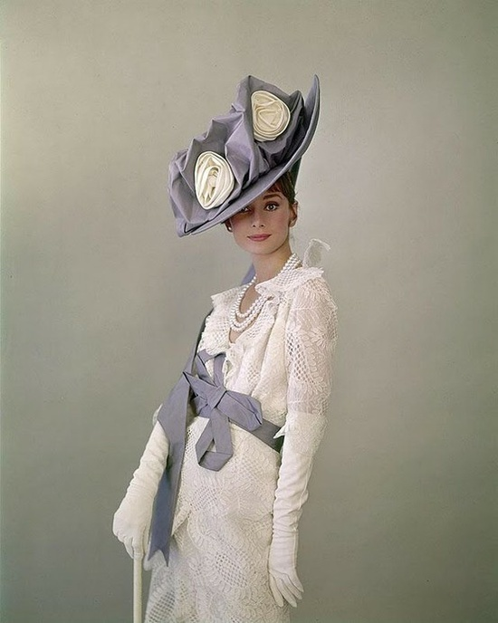 I love the look of dresses from the 18th, 19th and early 20th Century, as seen in period dramas - lots of layers and embellishment. The exaggerated female shape is quite beautiful (admittedly, the corsets weren't much fun). The ornate hats and silk gloves - image 2 - student project