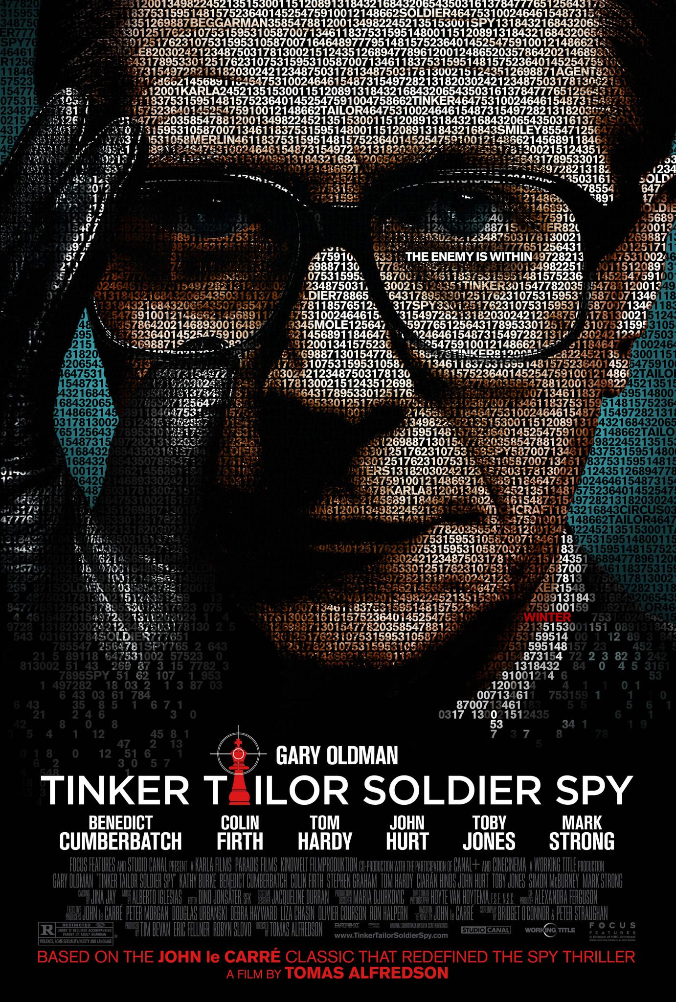 Title Sequence for Tinker Tailor Soldier Spy - image 1 - student project