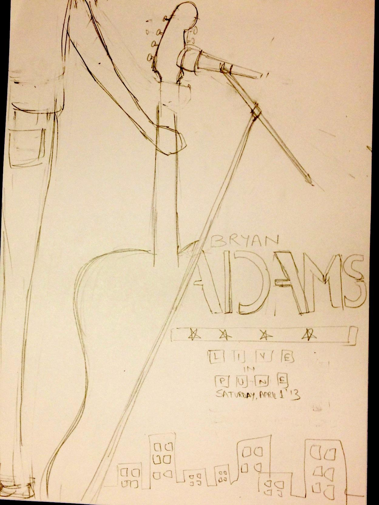 BRYAN ADAMS in India APR '13 - image 6 - student project