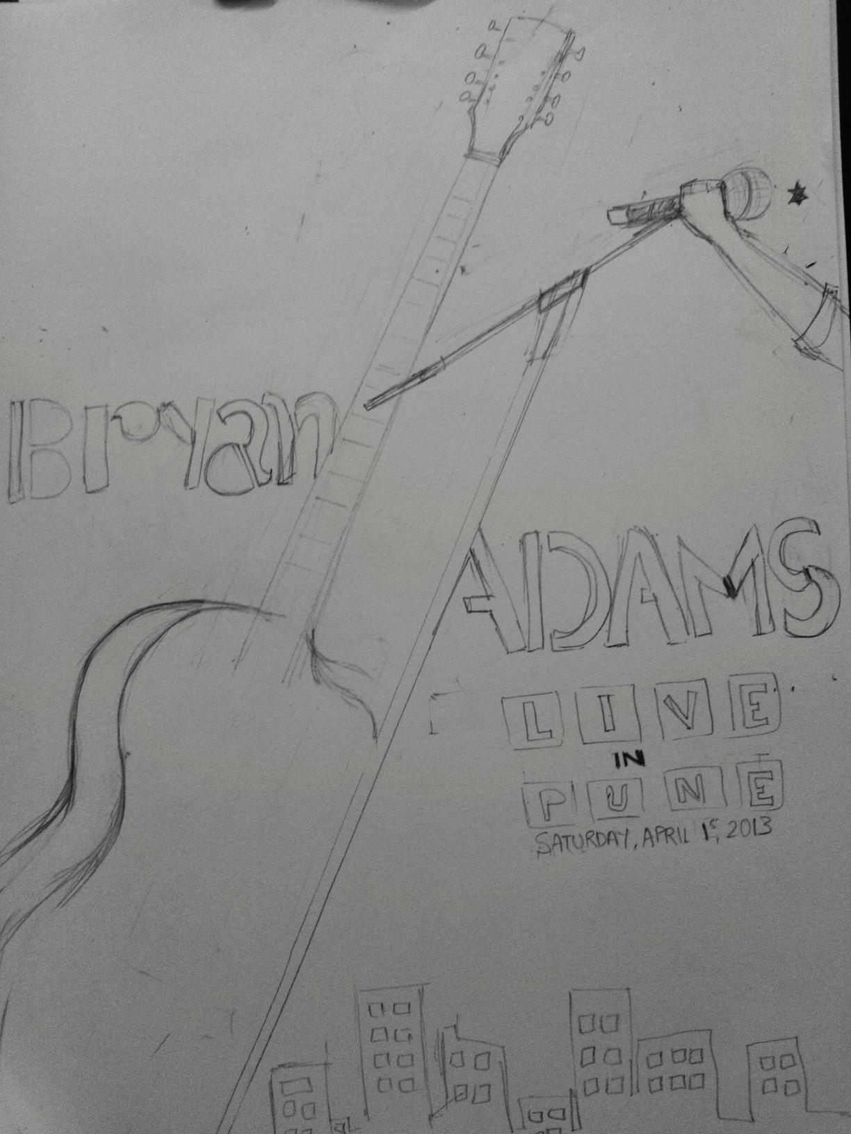 BRYAN ADAMS in India APR '13 - image 5 - student project