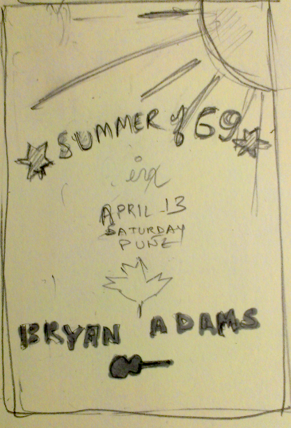 BRYAN ADAMS in India APR '13 - image 4 - student project