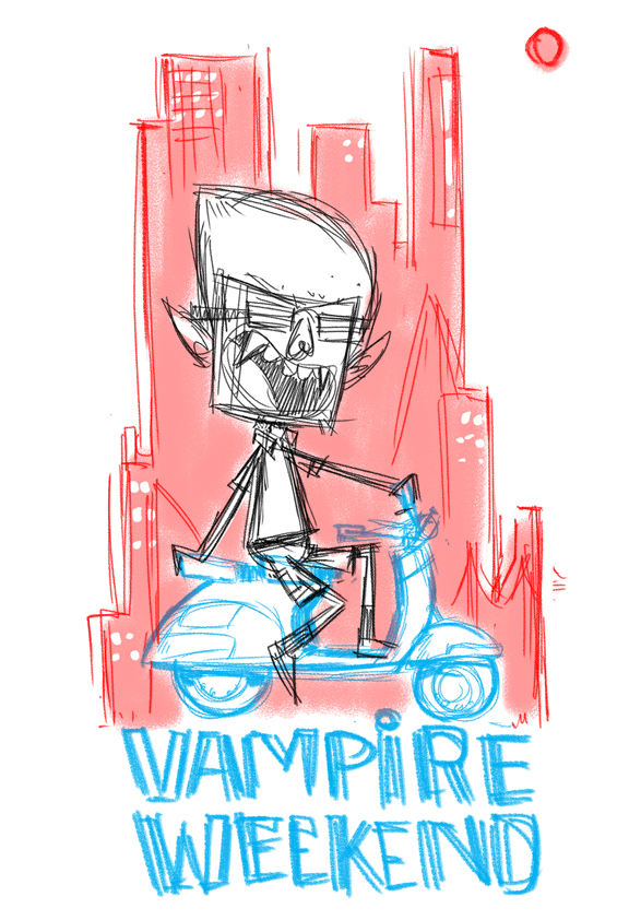 Vampire Weekend - Modern Vampires of the City - image 2 - student project