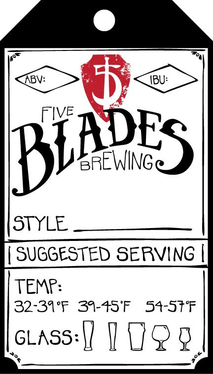 Five Blades Brewing - image 4 - student project