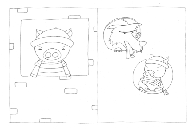 SAMPLE PROJECT: The Three Little Pigs - image 5 - student project