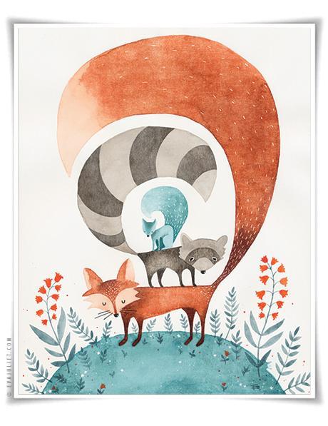 Eva Juliet Fox Print - image 1 - student project