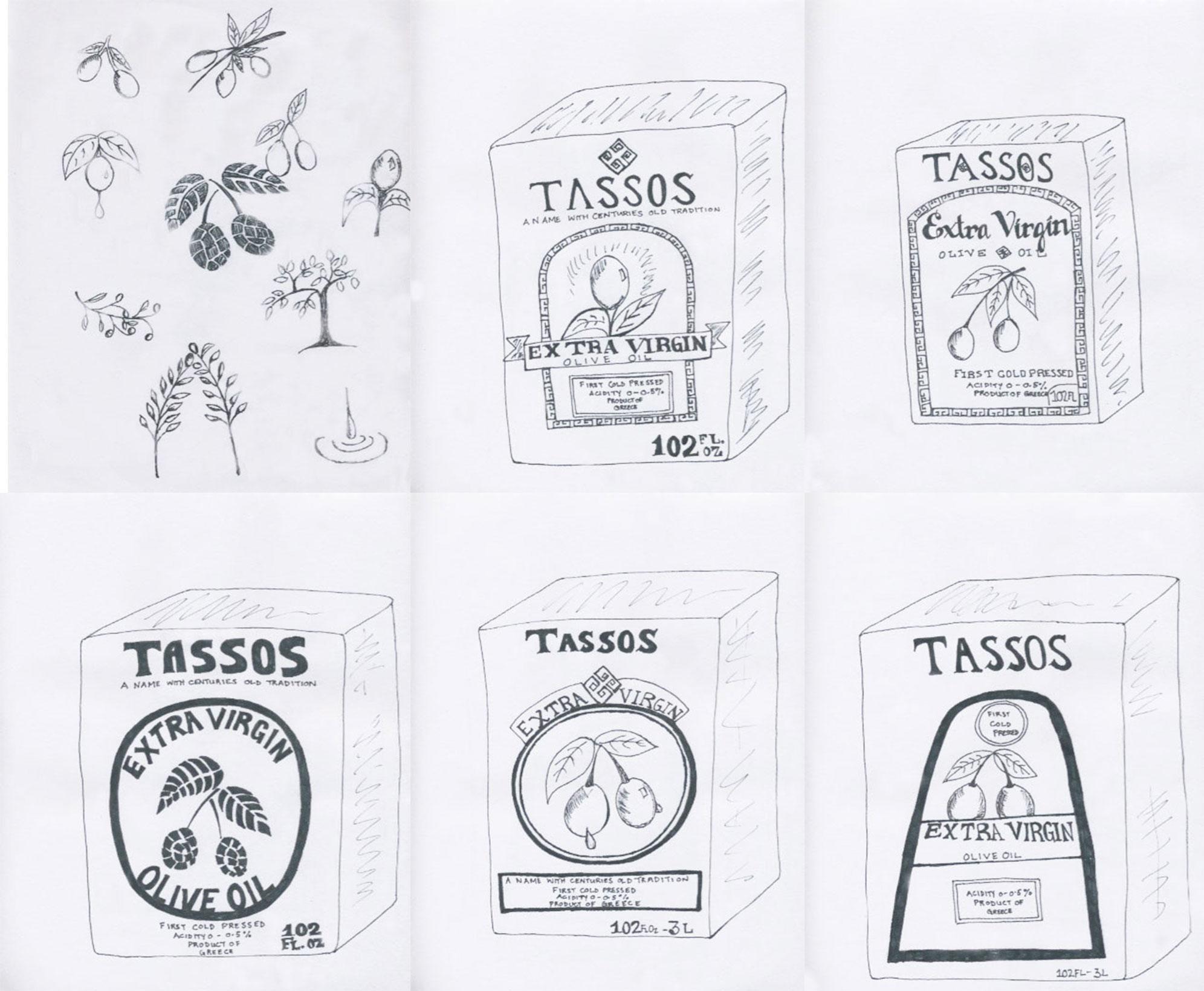 Tassos Label Design - image 5 - student project