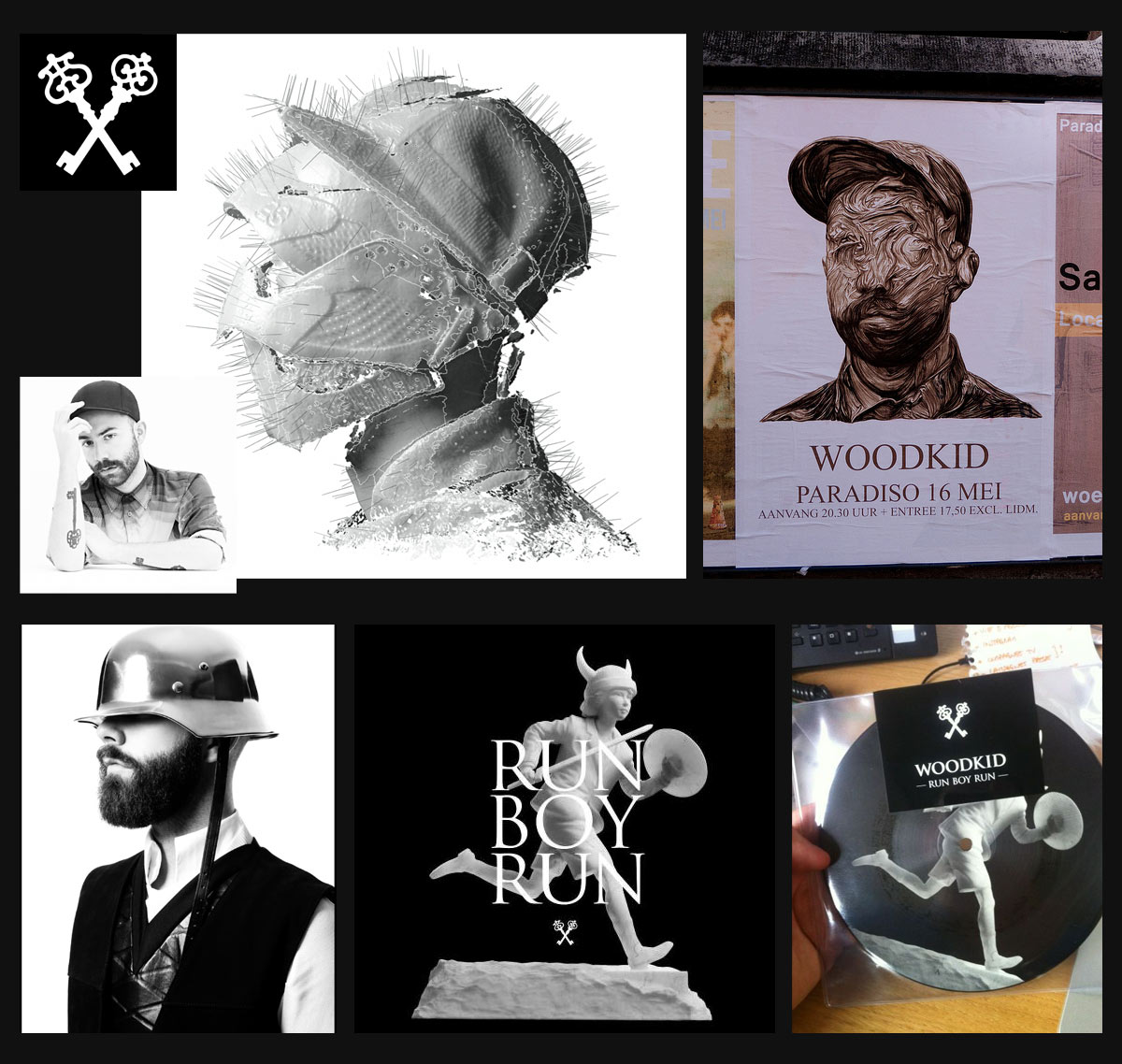 WOODKID -- The Golden Age Tour - image 1 - student project