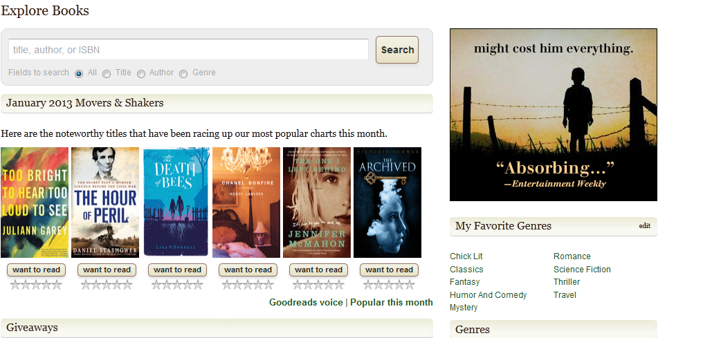 Exploring books on Goodreads.com - image 3 - student project
