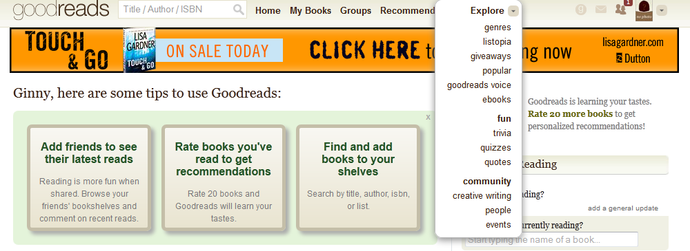 Exploring books on Goodreads.com - image 2 - student project