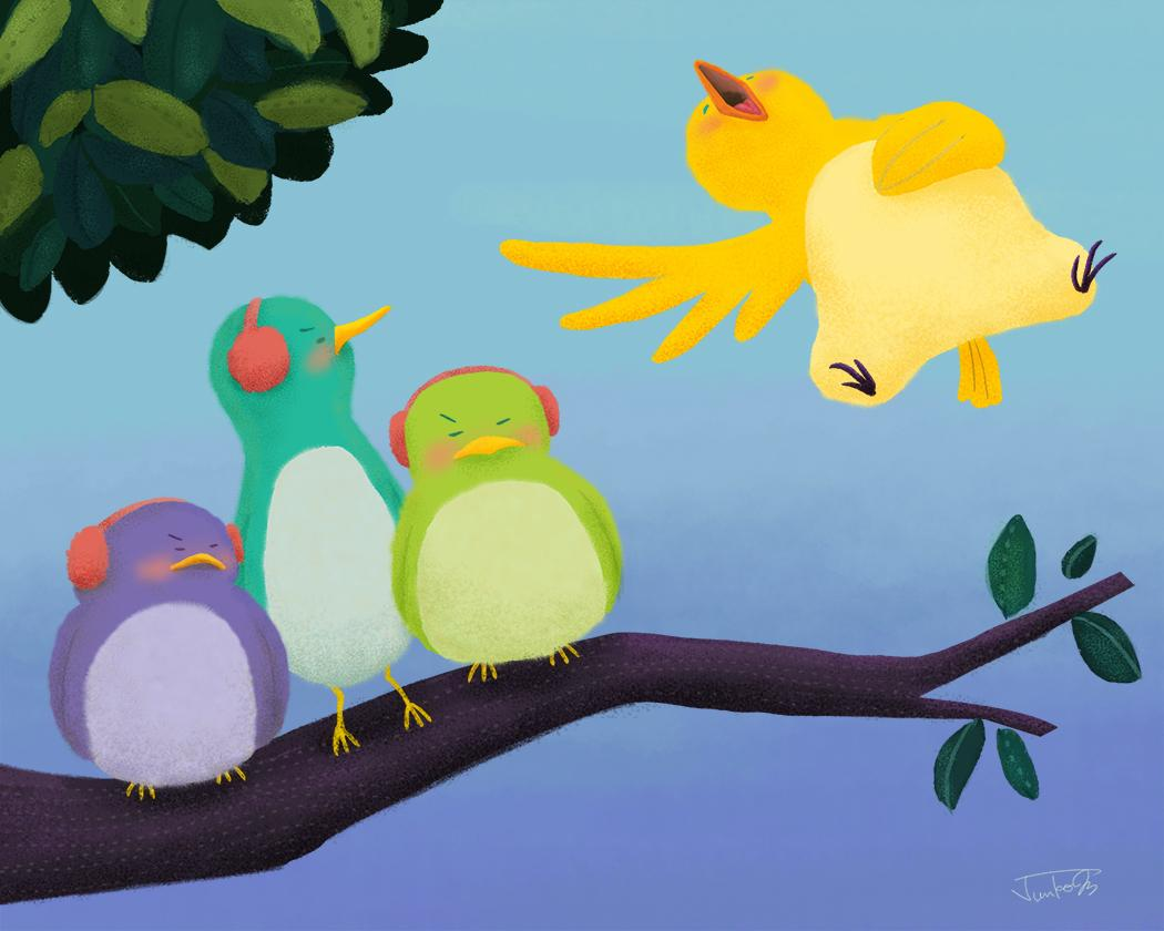 Loud Singing Bird - image 1 - student project