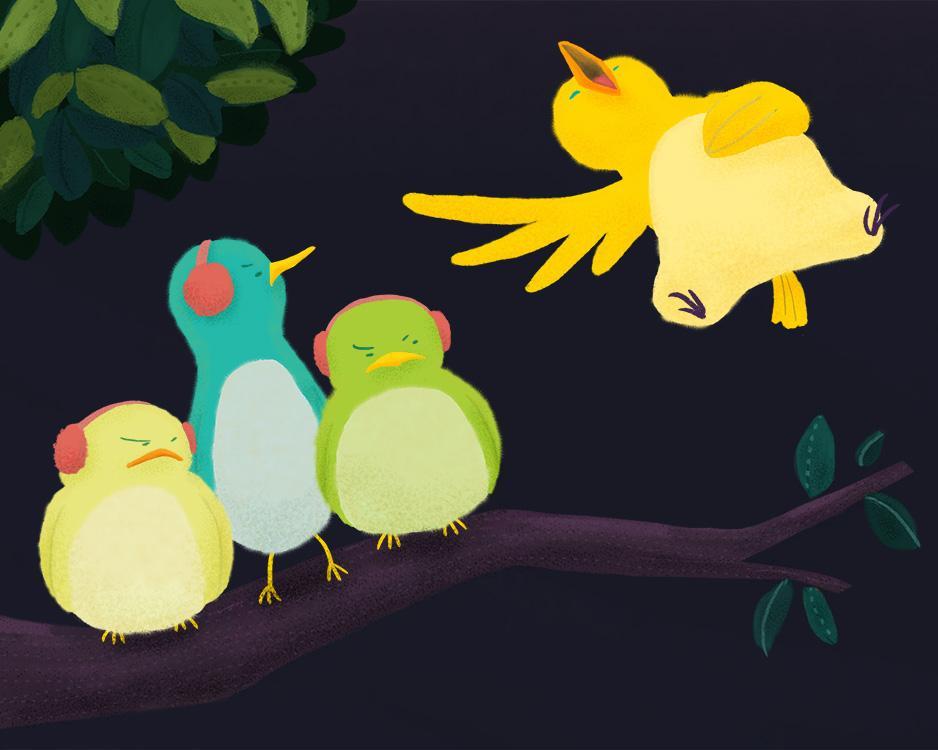 Loud Singing Bird - image 4 - student project