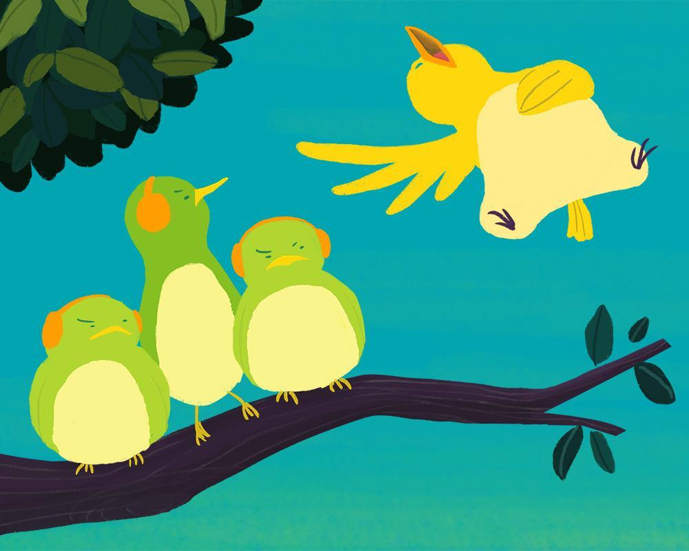 Loud Singing Bird - image 5 - student project