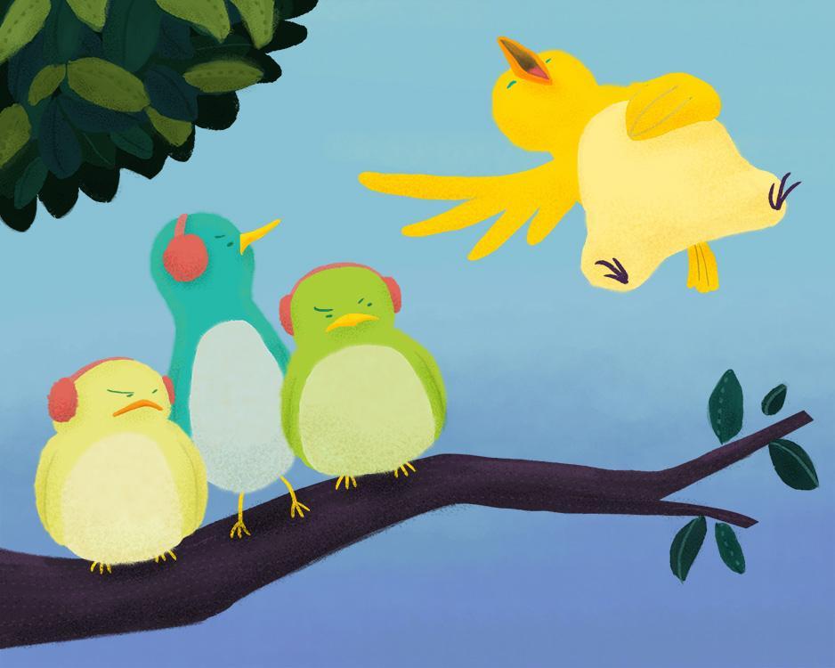 Loud Singing Bird - image 3 - student project