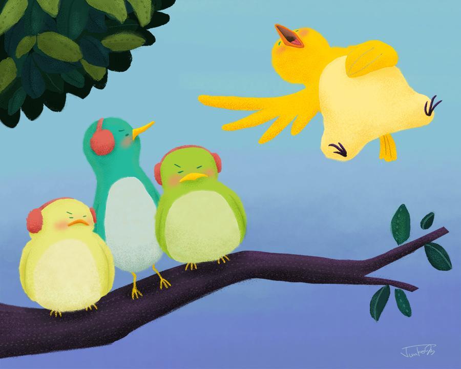 Loud Singing Bird - image 2 - student project
