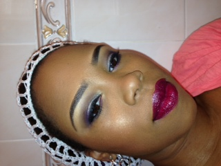 Sultry Smokey Date look - image 3 - student project