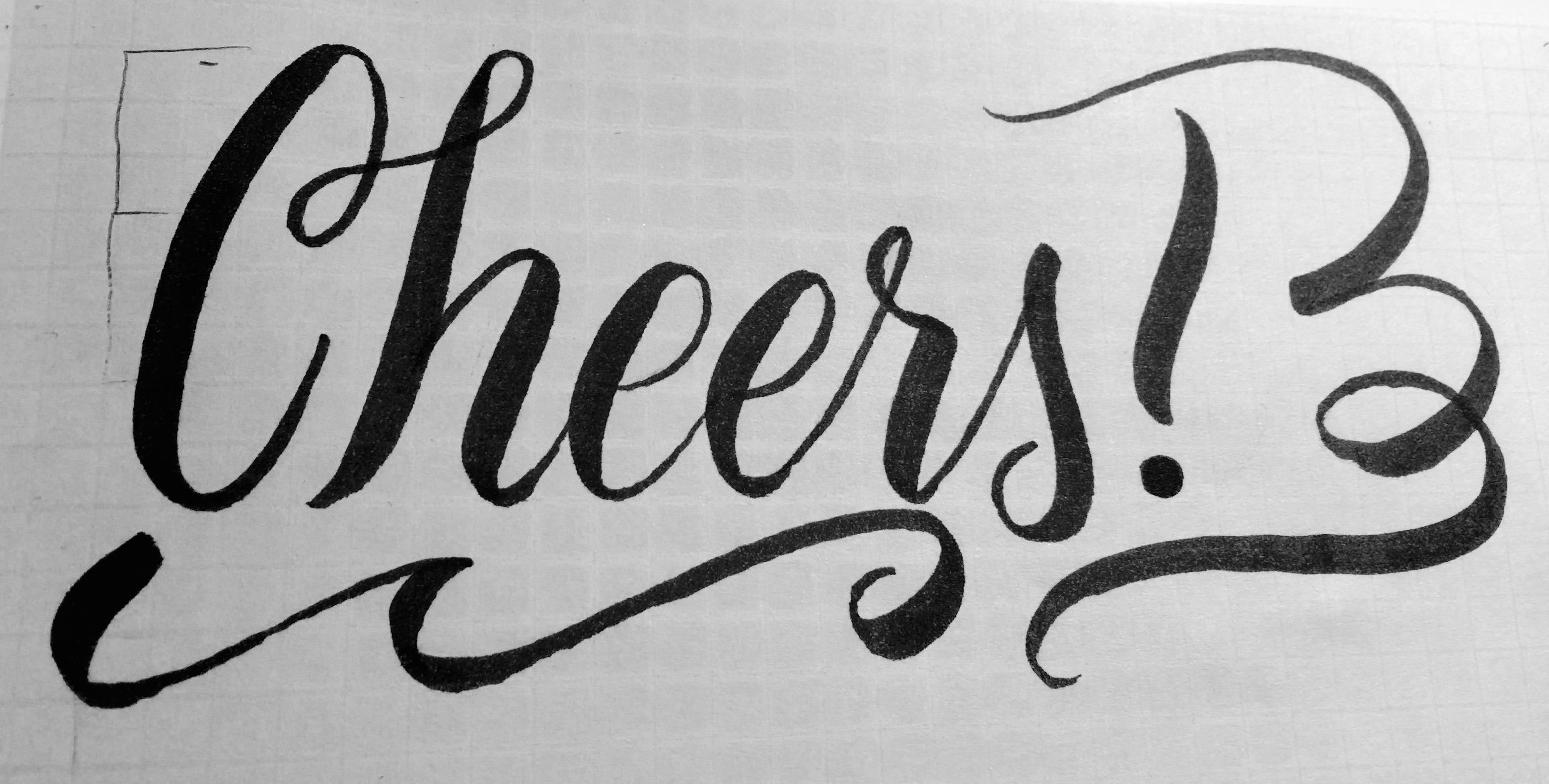 Practicing My Hand Lettering - image 8 - student project