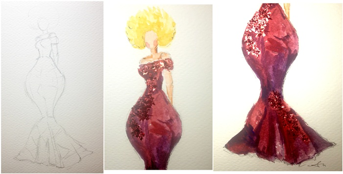 //New works!!// Texture. Color. Glamorous. - image 3 - student project