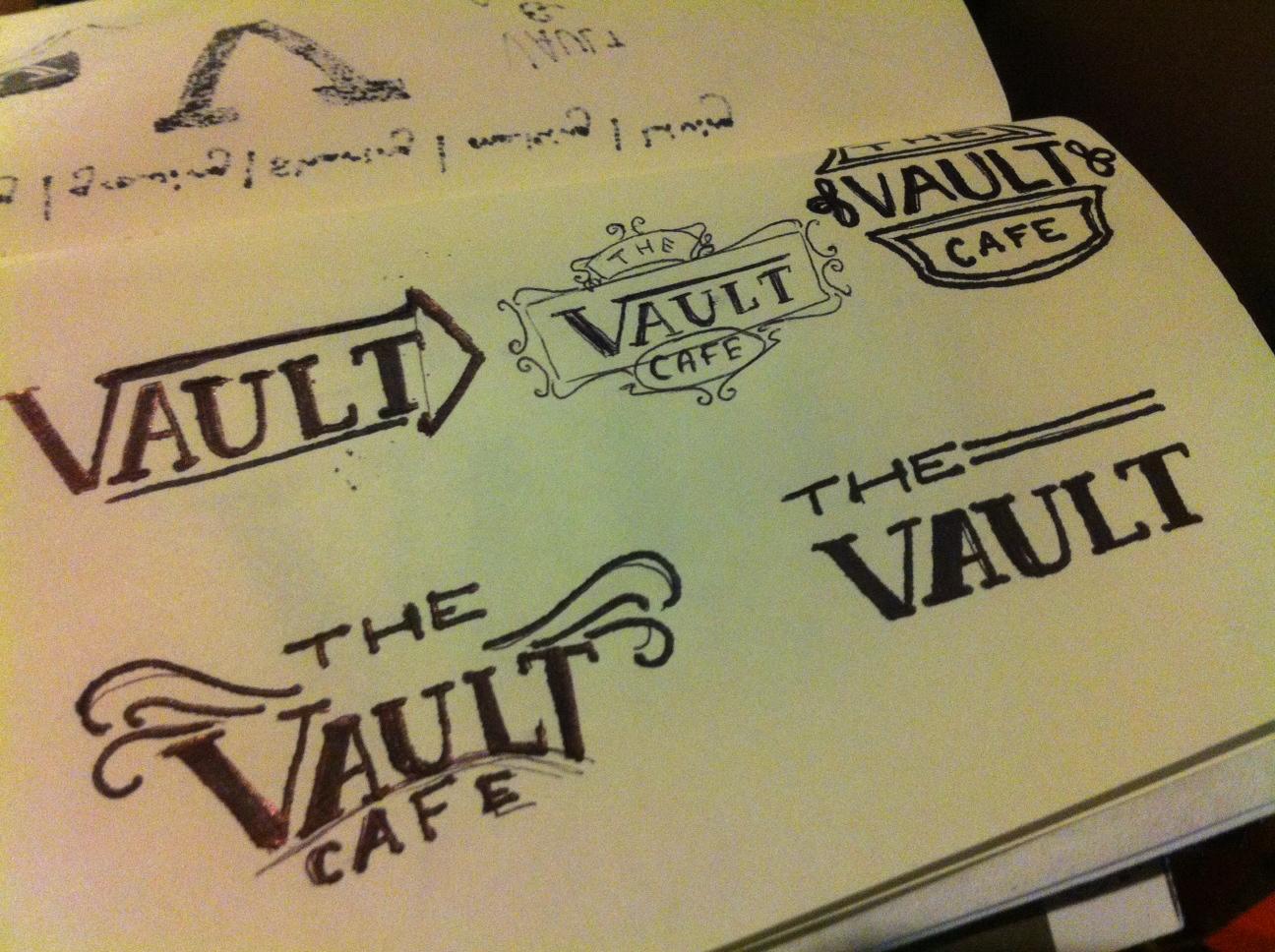 The Vault Cafe - Label Design - image 4 - student project