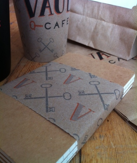 The Vault Cafe - Label Design - image 11 - student project