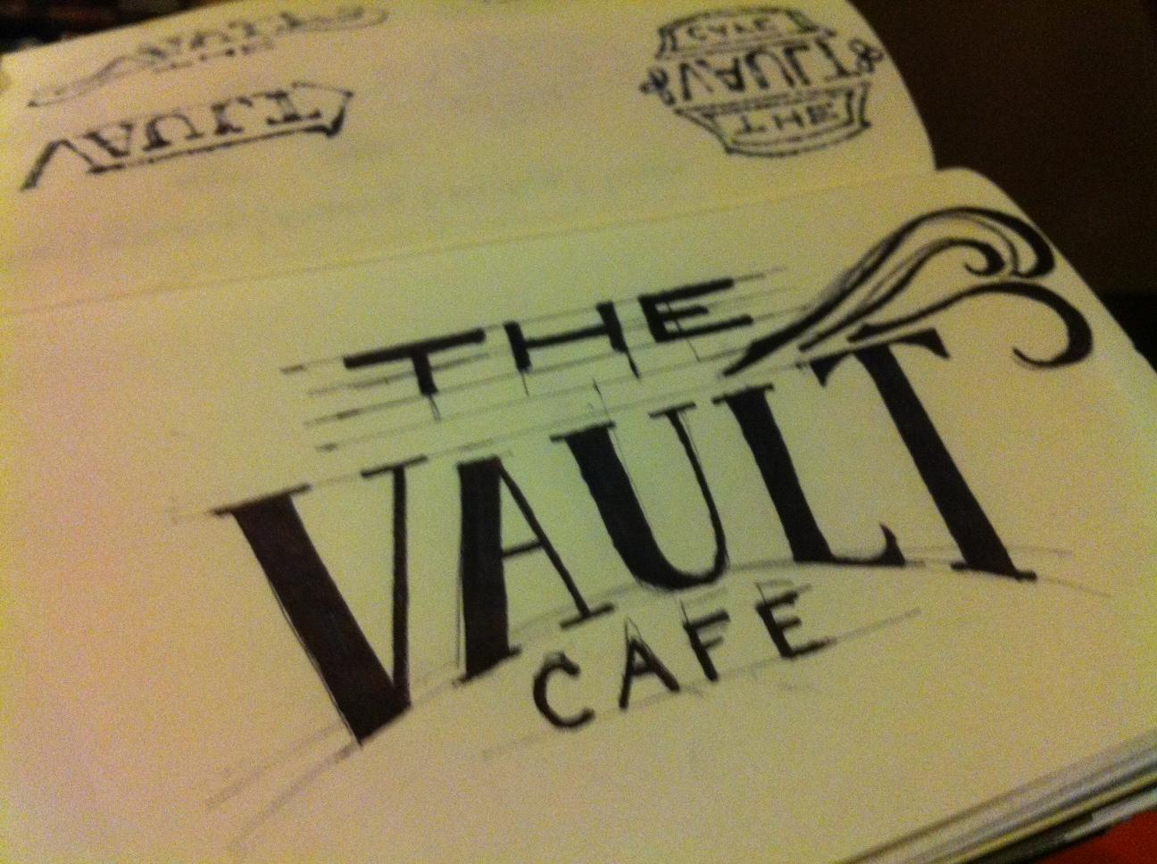 The Vault Cafe - Label Design - image 6 - student project