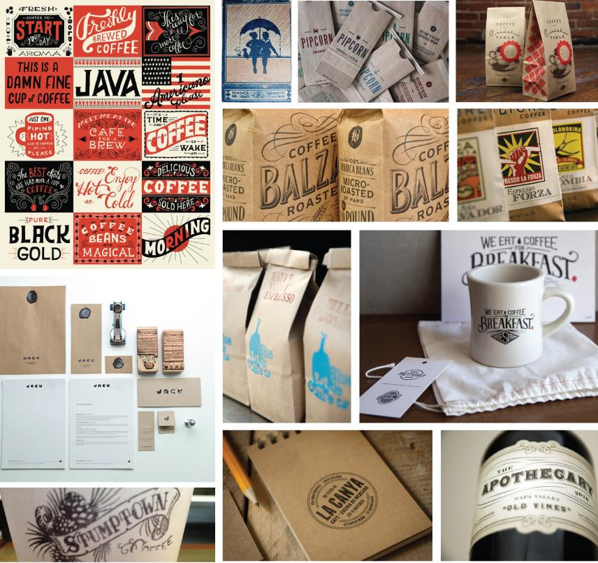 The Vault Cafe - Label Design - image 1 - student project