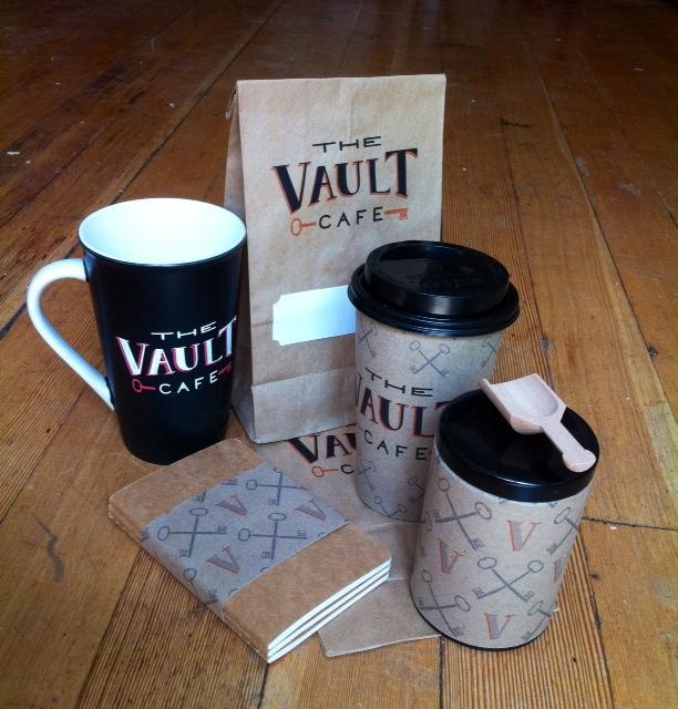 The Vault Cafe - Label Design - image 8 - student project