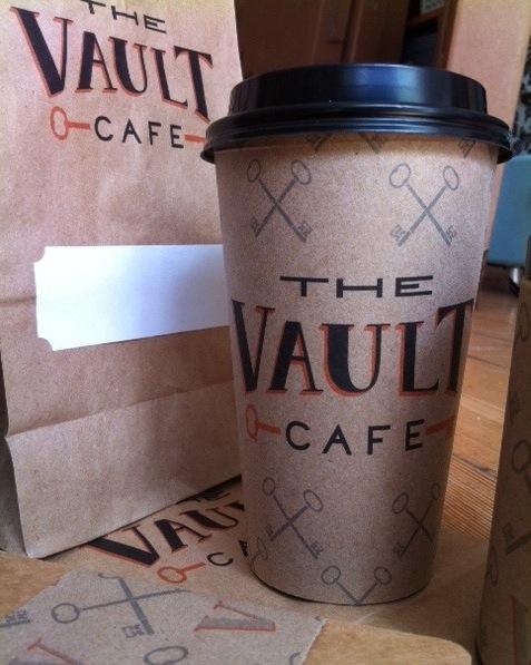 The Vault Cafe - Label Design - image 10 - student project