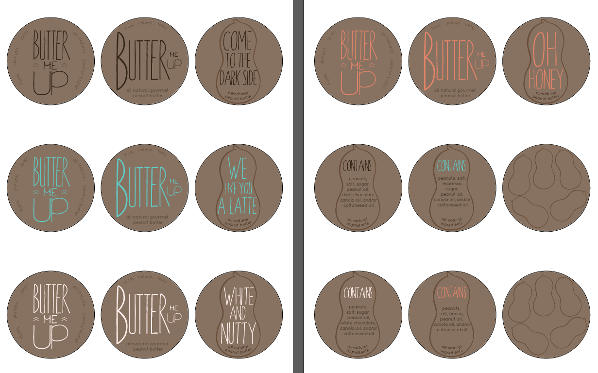 Peanut Butter Packaging - image 9 - student project